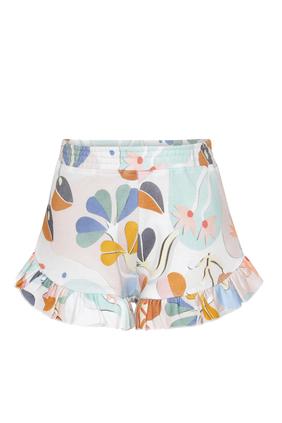 Papercut Sweat Shorts