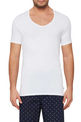 Jack Pima Cotton V-Neck T-Shirt