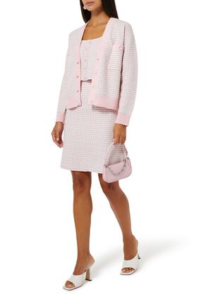 Tweed Cardigan-Style Jacket