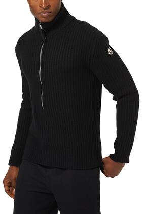 Logo Rollneck Sweater