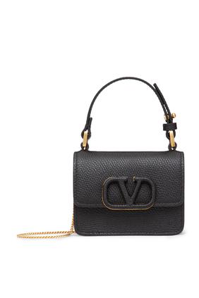 Micro V Sling Crossbody Bag
