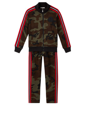 Camo Military Jersey Tracksuit