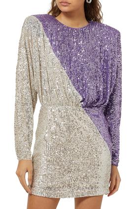 Billie Sequin Mini Dress