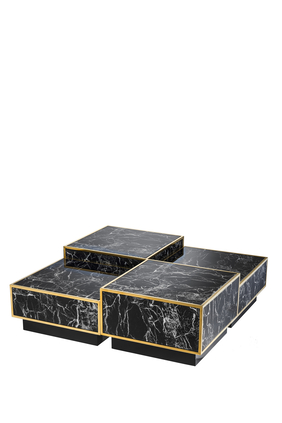 Concordia Coffee Table, Set of Four