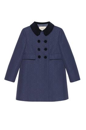 GG Viscose Wool Coat