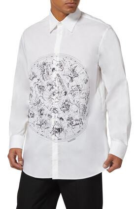 Zodiac Print Shirt