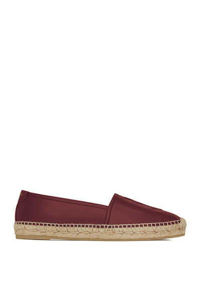Monogram Espadrilles in Leather