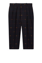 Double G Embroidery Pants