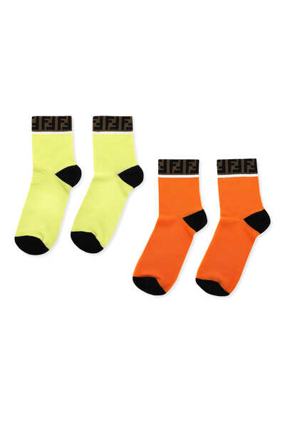 Logo Band Socks Pack Of Two