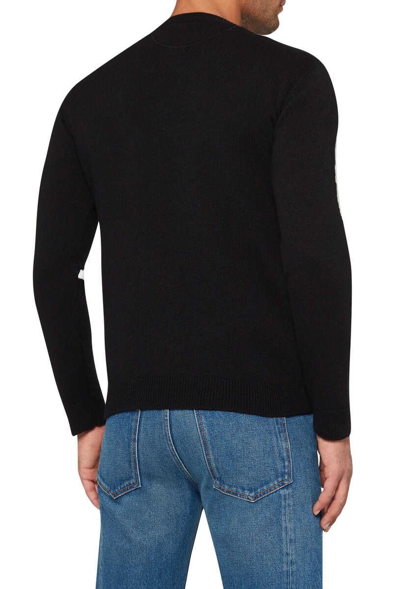 Valentino Logo Cashmere Sweater image number 3