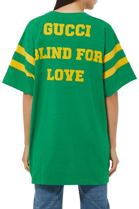 Gucci Eschatology'/'Blind for Love' T-shirt