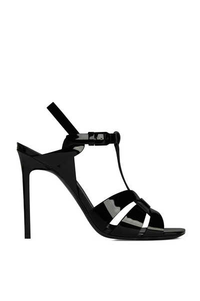 Tribute Sandals In Patent Leather