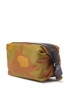 Camo Badge Shoulder Bag