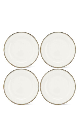 Royal Worcester Blue Lily Dinner Plates, Set of 4