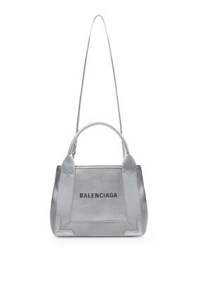 Navy XS Cabas Tote Bag