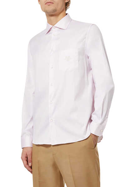 GG Embroidered Cotton Shirt