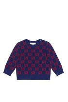GG Intarsia Wool Jumper