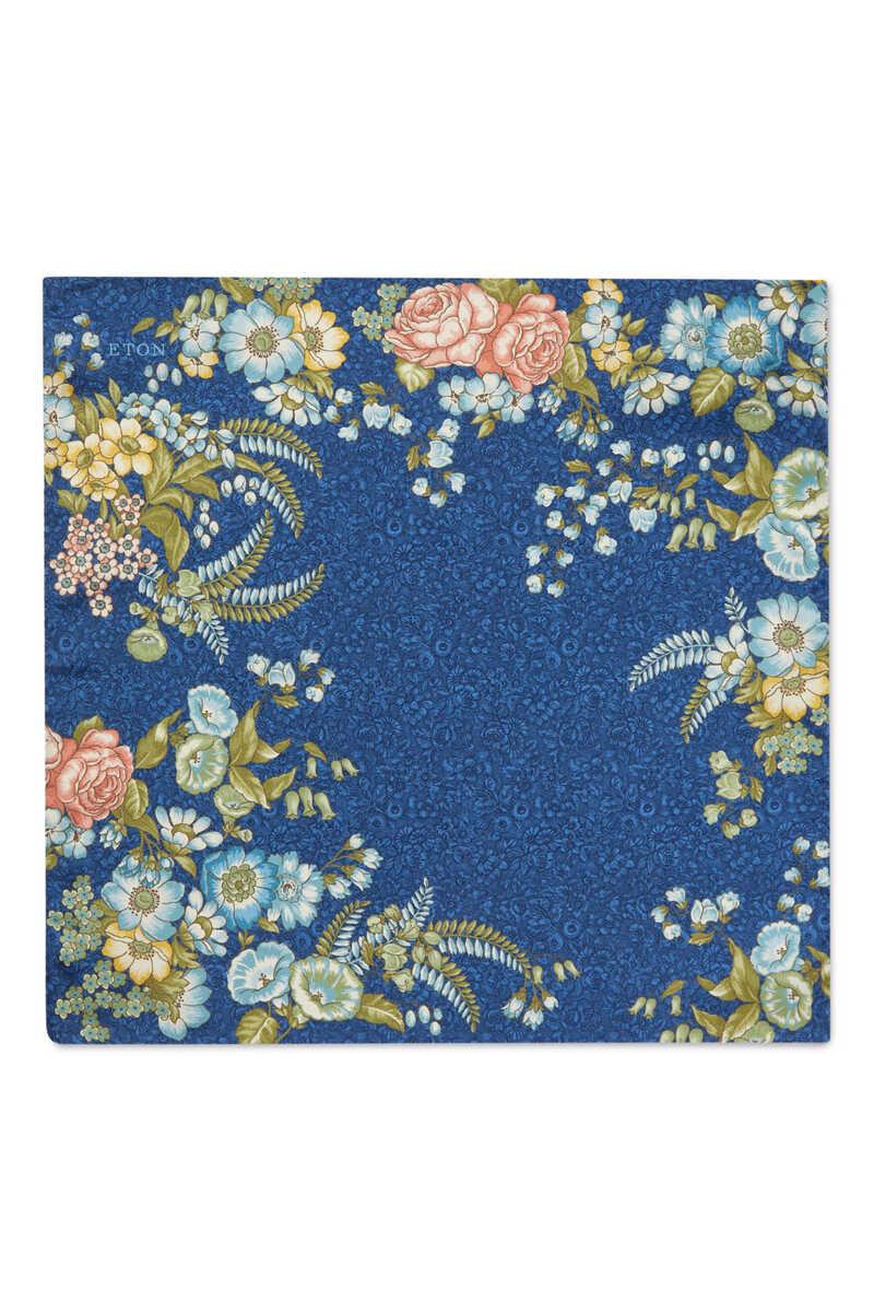 Floral Print Pocket Square image number 3