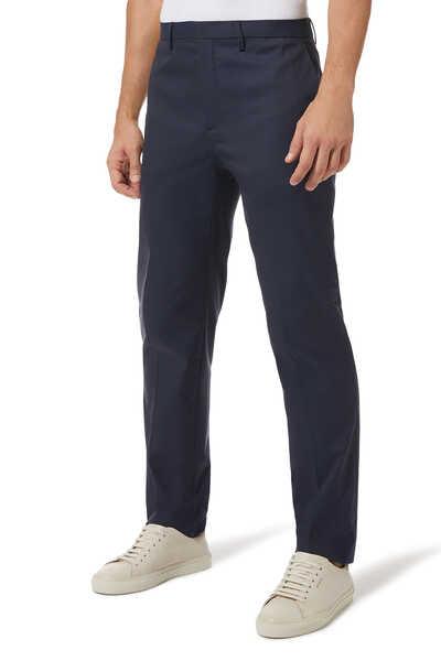 Slim Non-Iron Stretch Cotton Pant