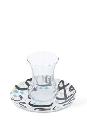 Tarateesh Tea Cups and Saucers, Set of Two