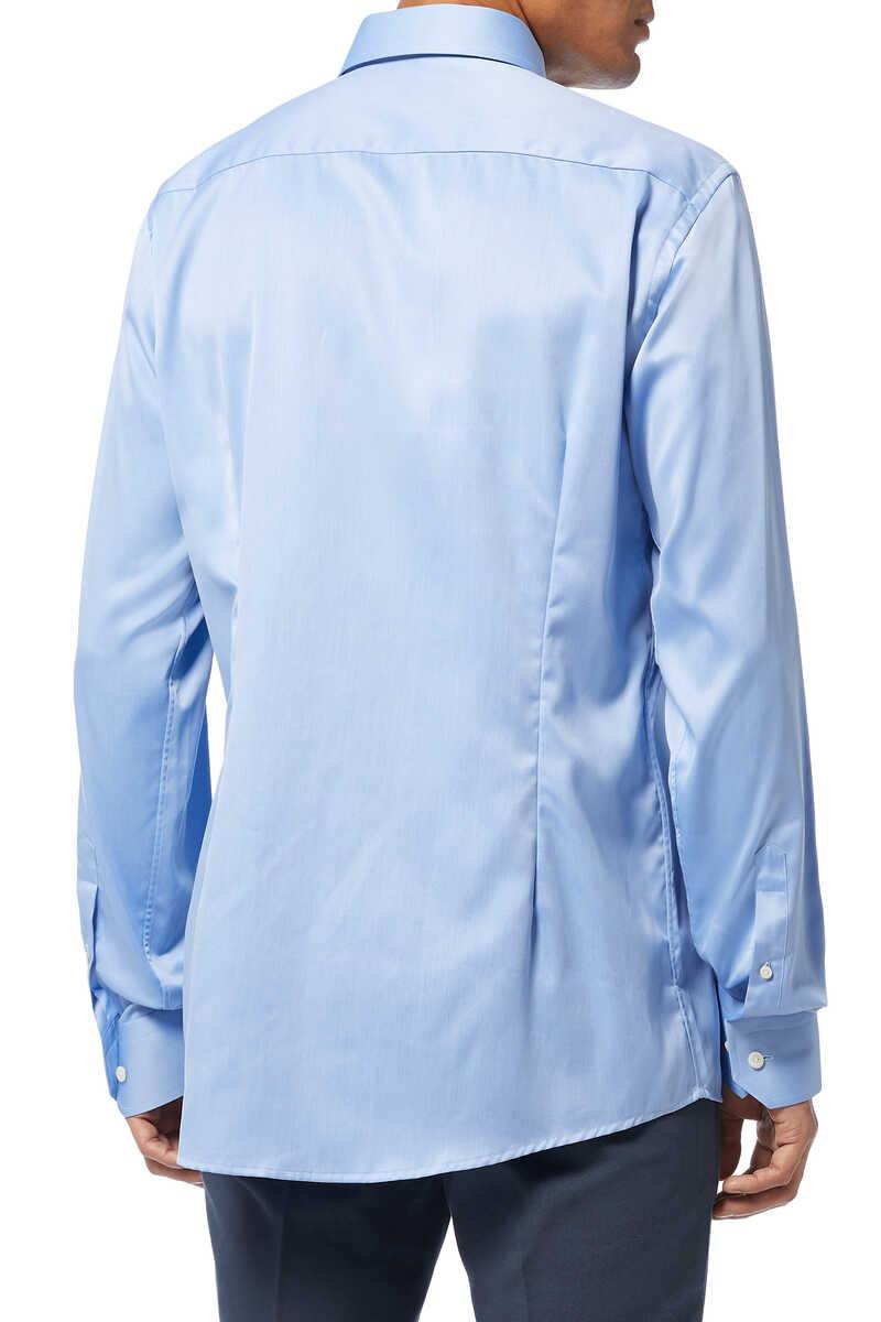 Slim Fit Cotton Shirt image number 3