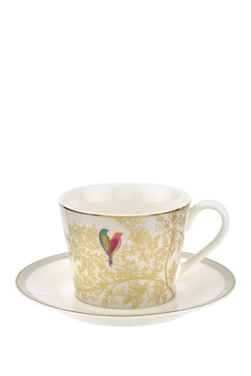 Sara Miller Tea Cup & Saucer