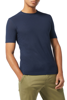 Ice Cotton Crewneck T-Shirt