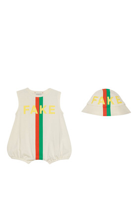 Baby 'Fake/Not' Gift Set