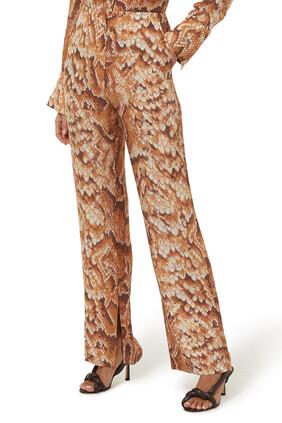 Tabbie Straight-Leg Pants