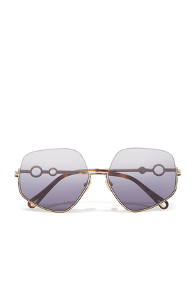 Sofya Pentagonal Sunglasses