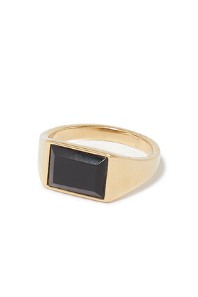 Lennox Onyx Ring
