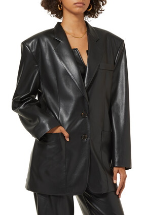 Evan Vegan Leather Jacket