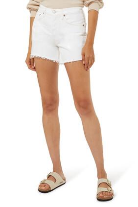 Parker Long Loose Fit Vintage Shorts