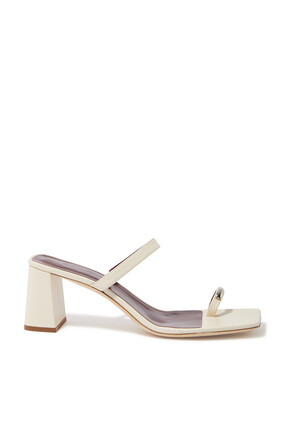 Frankie Leather Mules