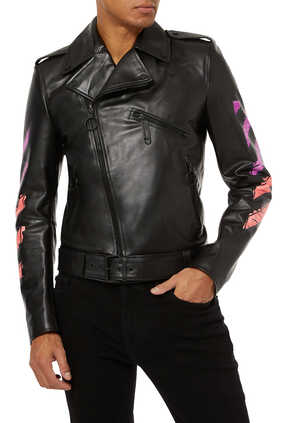 Marker Leather Jacket