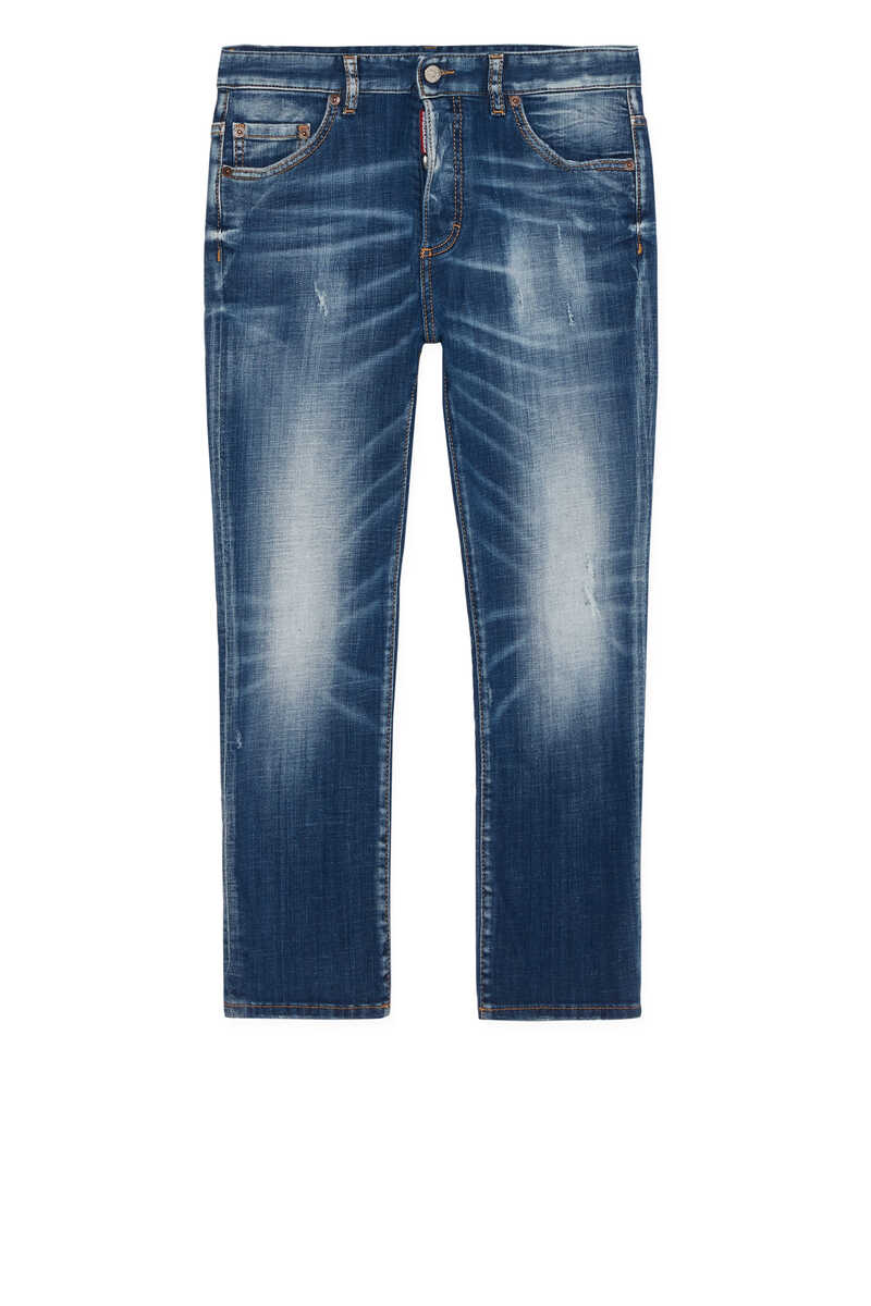 Logo Embroidered Jeans image number 1