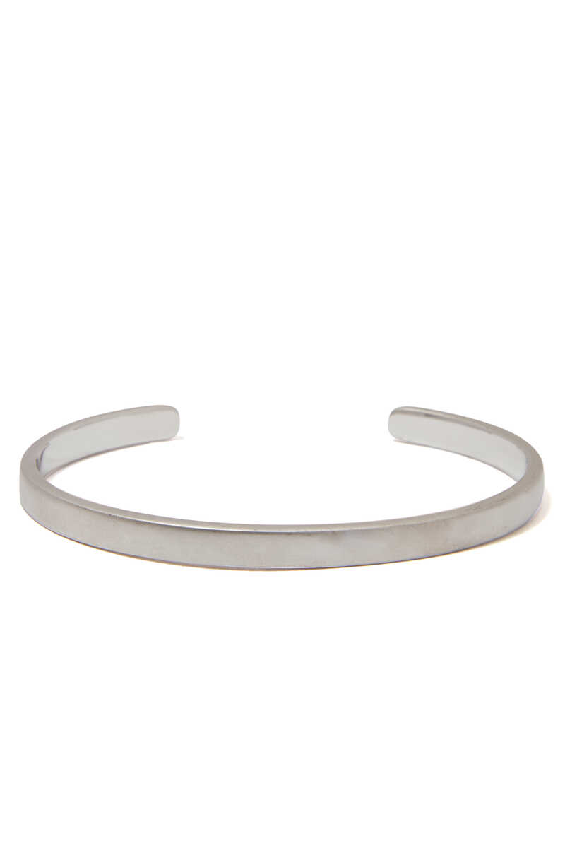 Single Cuff Silver Bracelet image number 3