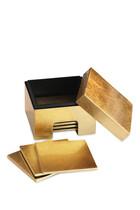 Coastbox Gold Leaf Coasters