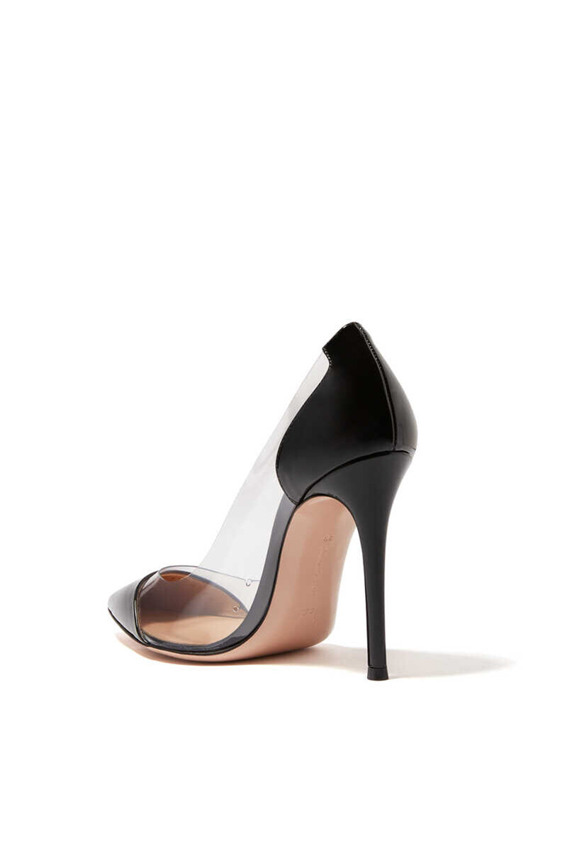 Plexy And Patent Leather Pumps image number 2