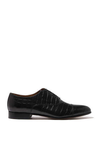 Sebastien Printed Croc Oxford Shoes