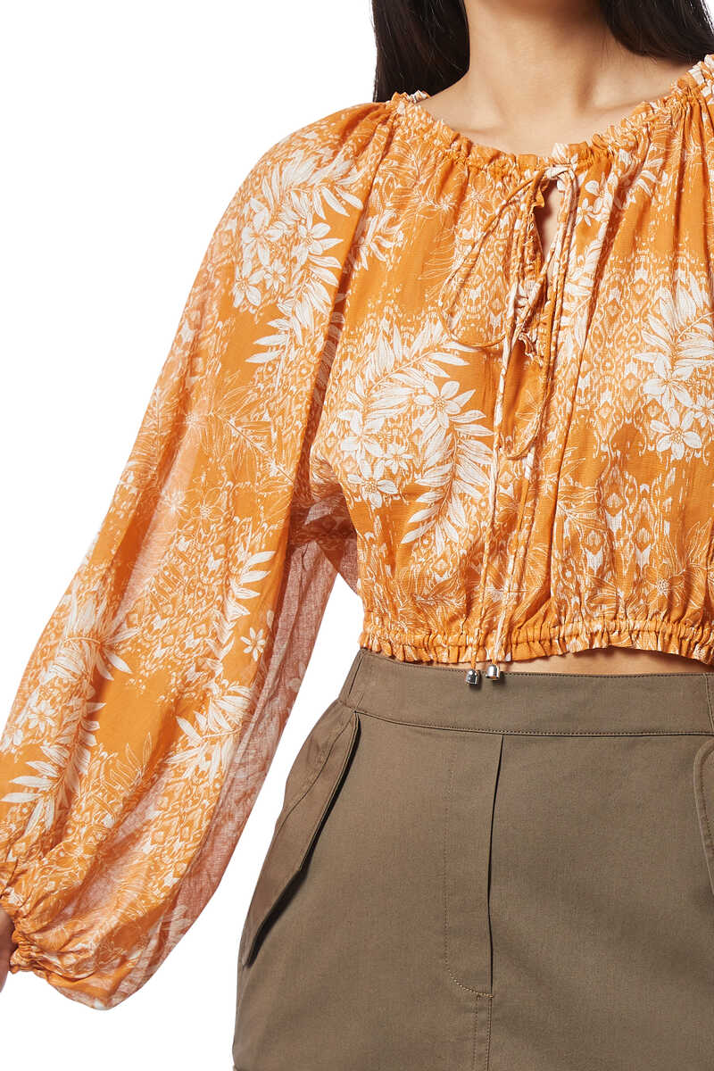Harmony Floral Print Blouse image number 4
