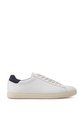 Bradley Milled Leather Sneakers