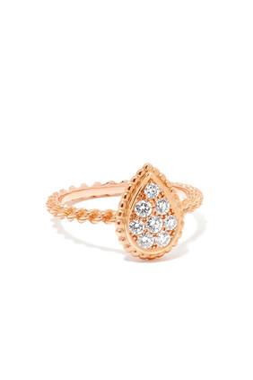 Serpent Bohème Motif Diamond Ring