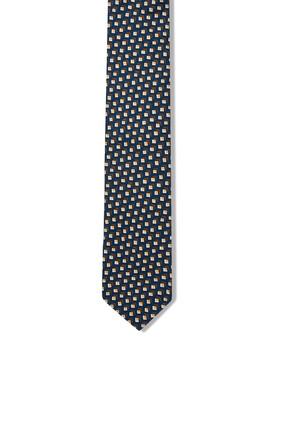 Micro Geo Silk Tie