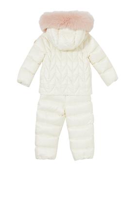 Sulen Snowsuit With Fur Hoodie