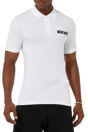 Small Symbols Logo Polo Shirt