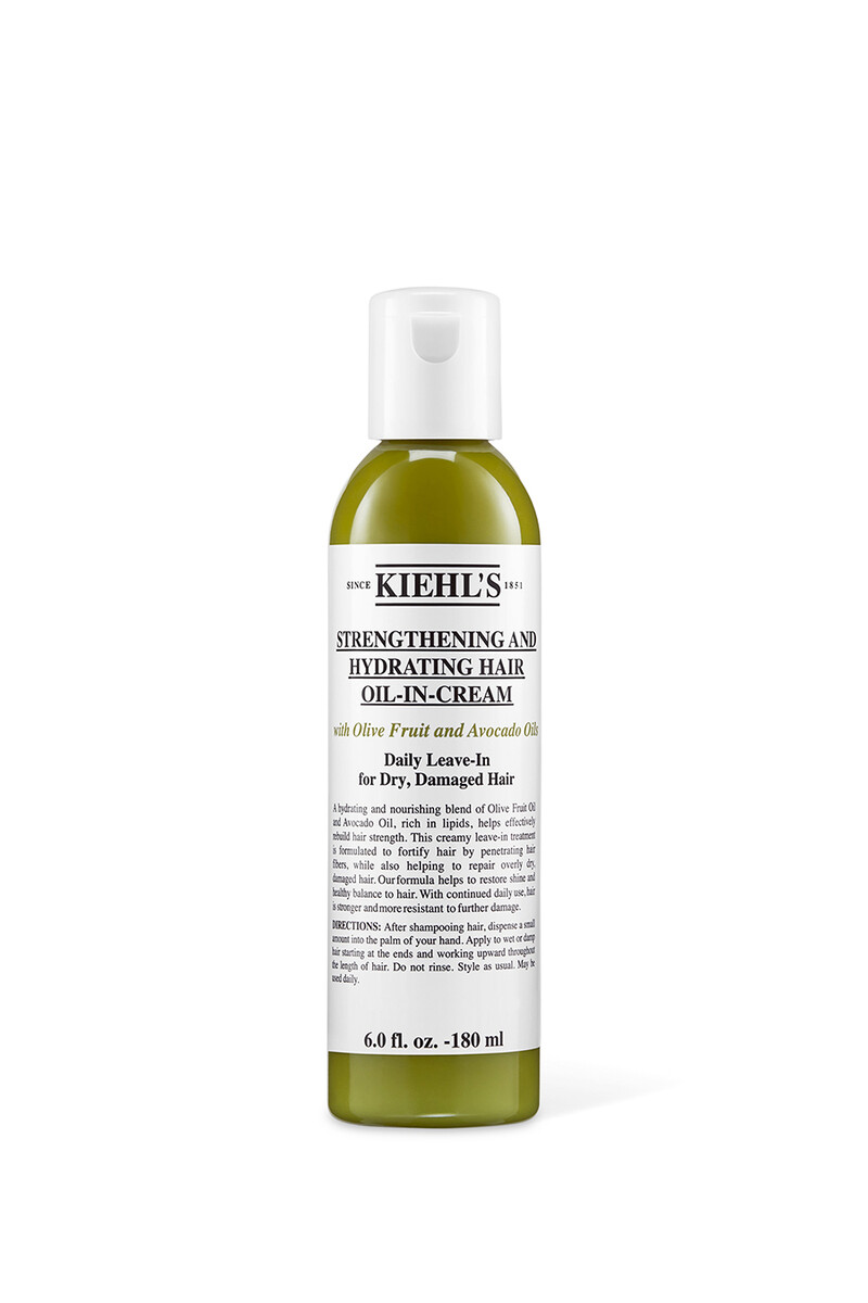 Strengthening And Hydrating Hair Oil-in-Cream image number 1