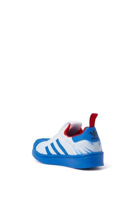 Kids Captain America Superstar Sneakers