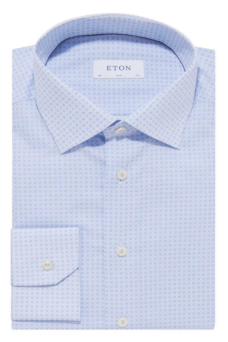 Tile Print Poplin Shirt image number 1