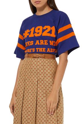 '1921 Gucci/L'aveugle Par Amour' T-Shirt